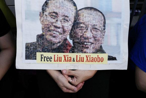 """""""Scanpix""""/AP nuotr./Liu Xiaobo ir Liu Xia"""