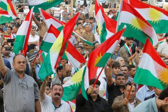 """""""Reuters""""/""""Scanpix"""" nuotr./Kirkuko gyventojai nekantriai laukia referendumo"""