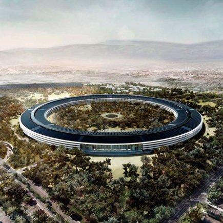 """""""Foster + Partners""""/""""Apple"""" miestelis Jungtinėse Amerikos Valstijose"""