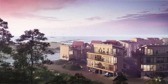 """Projektas Šventojoje """"Jūros panorama"""""""