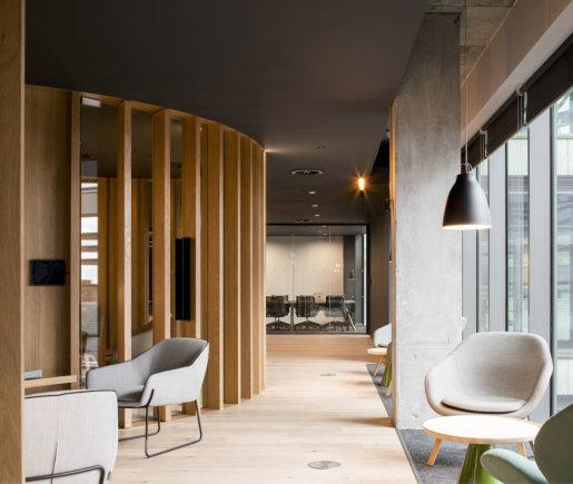 """ODOS Architects"" /""Slack"" biuras Dubline"