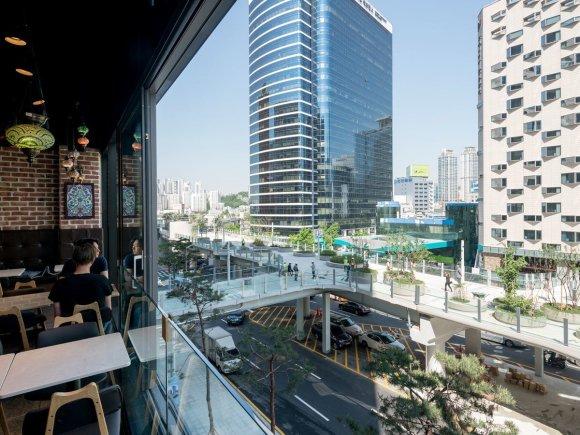 MVRDV nuotr./Žaliausia Seulo gatvė: transformavę viaduką, nušluostė nosį britams