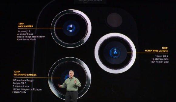 """iPhone 11 Pro"" kameros techniniai duomenys"