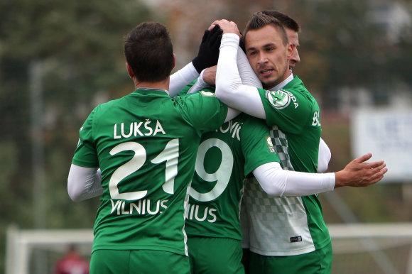 """A.Kisieliaus/A lygos rungtynės: Jonavos """"Lietava"""" – Vilniaus """"Žalgiris"""""""