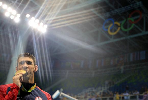 """Scanpix"" nuotr./Michaelas Phelpsas"