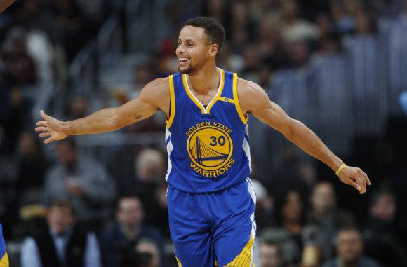 """Scanpix""/AP nuotr./NBA rungtynės: ""Warriors"" – ""Nuggets"""
