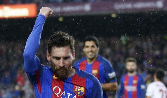 """""""Scanpix"""" nuotr./Daugiausiai uždirbantys pasaulio futbolininkai – Lionelis Messi"""