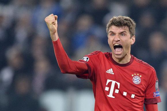 """""""Scanpix"""" nuotr./Daugiausiai uždirbantys pasaulio futbolininkai – Thomas Mulleris"""