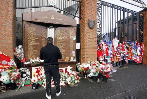 Hilsboro aukų memorialas Liverpulyje