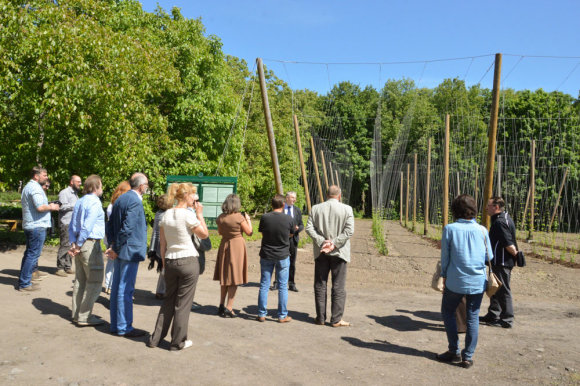 Organizatorių nuotr./Apyninkystės konferencija VDU Kauno botanikos sode