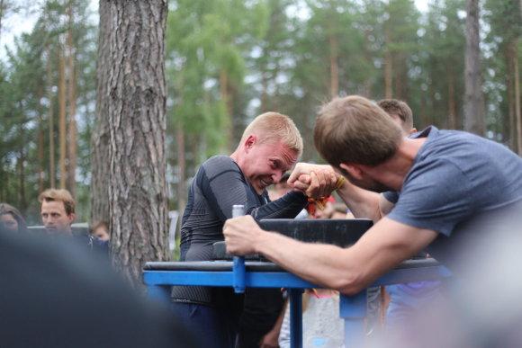 "Projekto partnerio nuotr./Festivalio ""VAROM! summer fest'17"" publika vos spėjo šėlti"