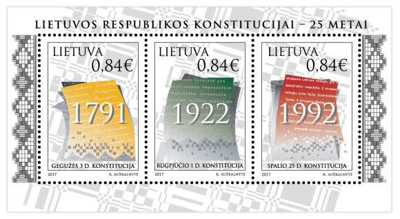 Lietuvos pašto nuotr./Pašto ženklai