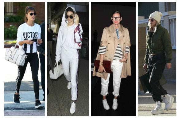 Vida Press nuotr./Alessandra Ambrosio, Kendall Jenner, Jenna Lyons, Sofia Richie
