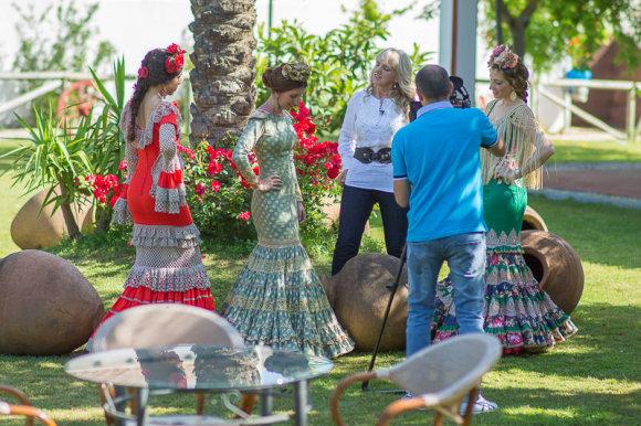 Petro Photos nuotr./Rimos Pocevičienės flamenko suknelės