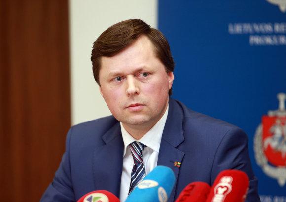 Kauno apygardos prokuratūros vyriausiasis prokuroras Darius Valkavičius