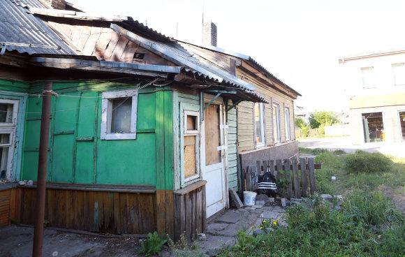 Aliaus Koroliovo/15min nuotr./Namas, kuriame buvo mirtinai sumuštas kaunietis