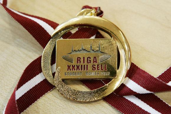 Z. Ripinskio nuotr./SELL aukso medalis