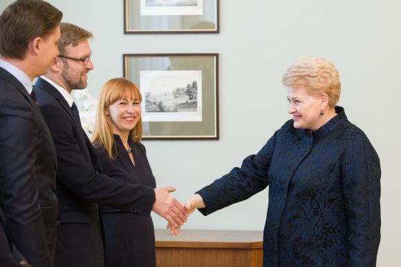 Žygimanto Gedvilos / 15min nuotr./Linas Kukuraitis ir Dalia Grybauskaitė