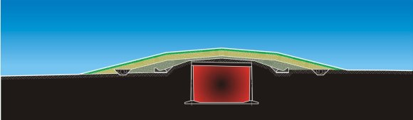 Radioaktyviųjų atliekų tvarkymo agentūra (RATA) nuotr./Maišiagalos radioaktyviųjų atliekų saugykla