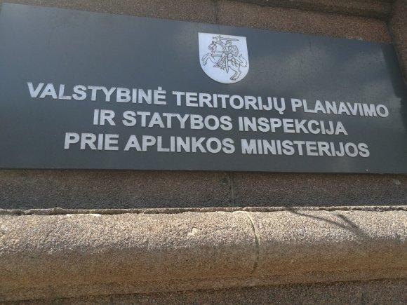 15min nuotr./Valstybinė teritorijų planavimo ir statybos inspekcija