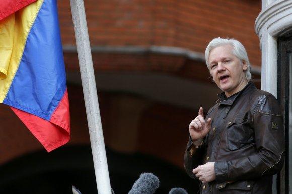 "AFP/""Scanpix"" nuotr./Julianas Assange'as"