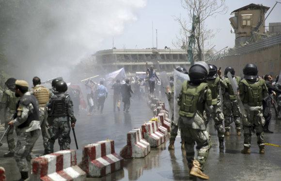 TT NYHETSBYRÅN/Protestas Kabule