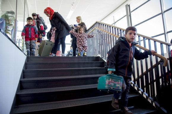 TT NEWS AGENCY/Pabėgėliai Getenborge