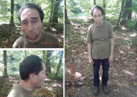 Šafhauzeno policijos nuotr./Vyras, įtariamas Šafhauzene pjūklu sužeidęs penkis žmonės