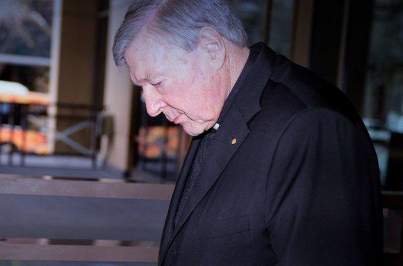 """""""Scanpix""""/""""SIPA"""" nuotr./Seksualiniu išnaudojimu įtariamas kardinolas George'as Pellas"""