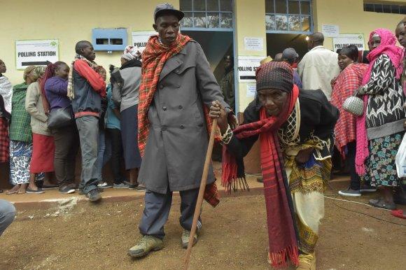 """AFP/""""Scanpix"""" nuotr./Visuotiniai rinkimai Kenijoje"""