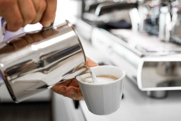 Projekto partnerio nuotr./Lavazza kavos ruošimo procesas