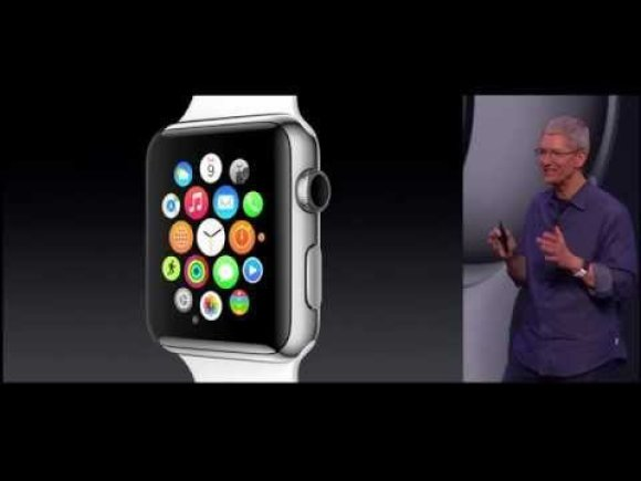 VIDEO kadras: Apple Special Event 2014 - Apple Watch Introduction