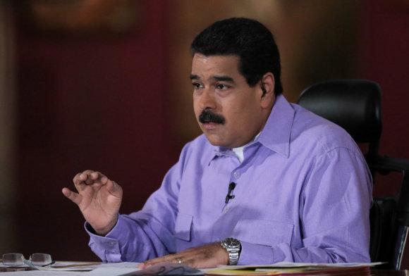 """""""Reuters""""/""""Scanpix"""" nuotr./Nicolasas Maduro"""