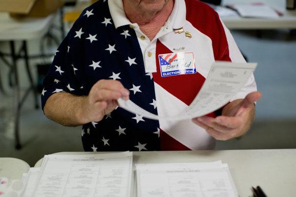"""AFP/""""Scanpix"""" nuotr./Rinkimai JAV"""