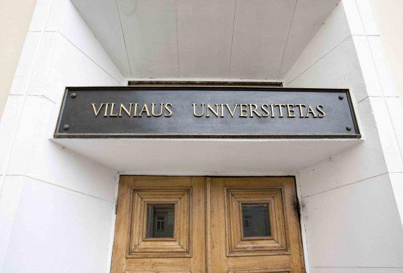 Luko Balandžio / 15min nuotr./Vilniaus universitetas