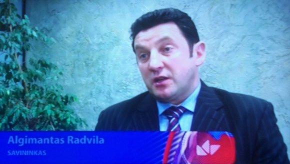 Kadras iš LNK Žinių/Algimantas Radvila