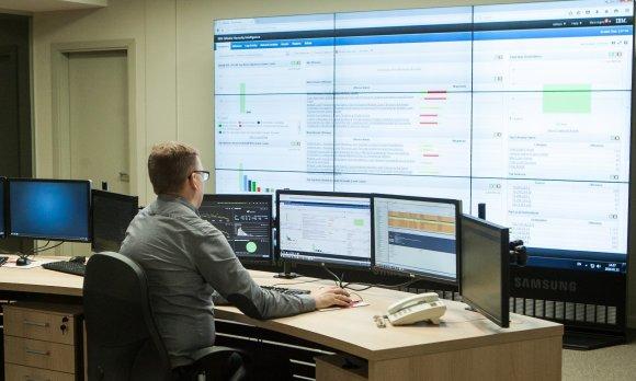 Teisingumo ministerijos nuotr./Registrų centro informacinės saugos operacijų centras