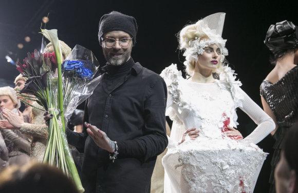 Luko Balandžio/Žmonės.lt nuotr./Liutauras Salasevičius ir Agnė Kavaliauskaitė