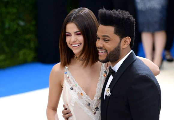 """Scanpix"" nuotr./Selena Gomez ir The Weeknd gegužę per ""Met Gala"" pokylį Niujorke"