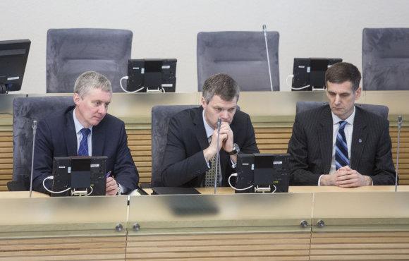 Luko Balandžio/15min.lt nuotr./Seimas pakeitė VSD vadovą
