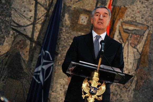 """Scanpix""/AP nuotr./Buvęs Juodkalnijos premjeras Milo Djukanovičius"
