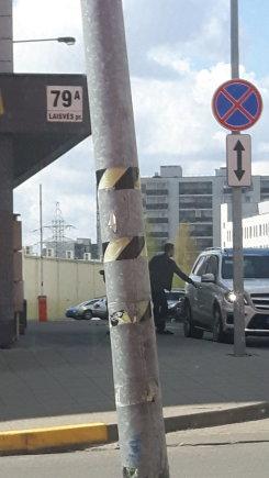 Ne tik SEL'ui, bet ir jo vairuotojui KET nerūpi :-)