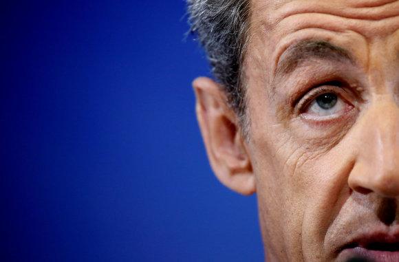 """""""Reuters""""/""""Scanpix"""" nuotr./Nicolas Sarkozy."""