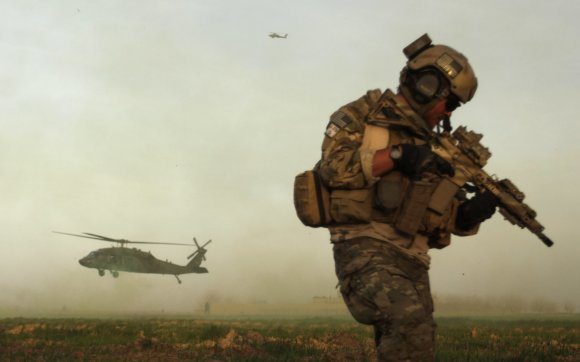 """AFP/""""Scanpix"""" nuotr./JAV specialiosios pajėgos"""