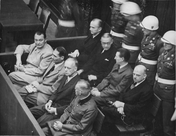 wikimedia.org nuotr./Niurnbergo proceso teisiamieji