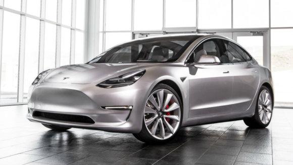 """Tesla iliustr./""""Tesla Model 3"""""""