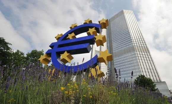 """AFP/""""Scanpix"""" nuotr./Europos centrinio banko būstinė"""