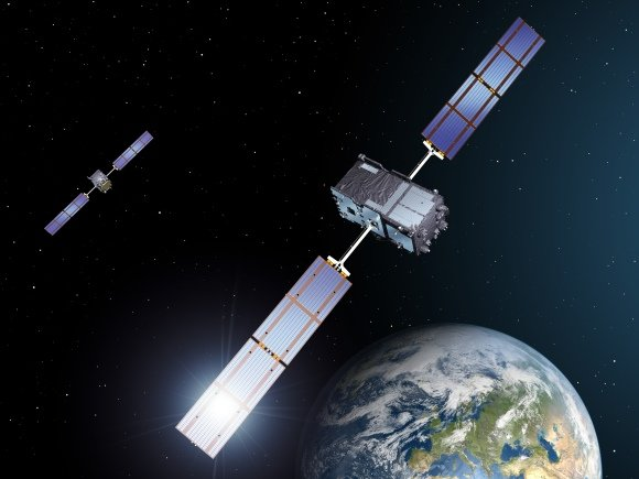 """Esa.int nuotr./""""Galileo"""" palydovai"""