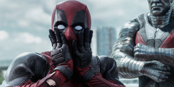 "Kadras iš filmo ""Deadpool"" (2016)"