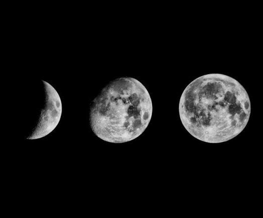 Fotolia nuotr./Mėnulio fazės